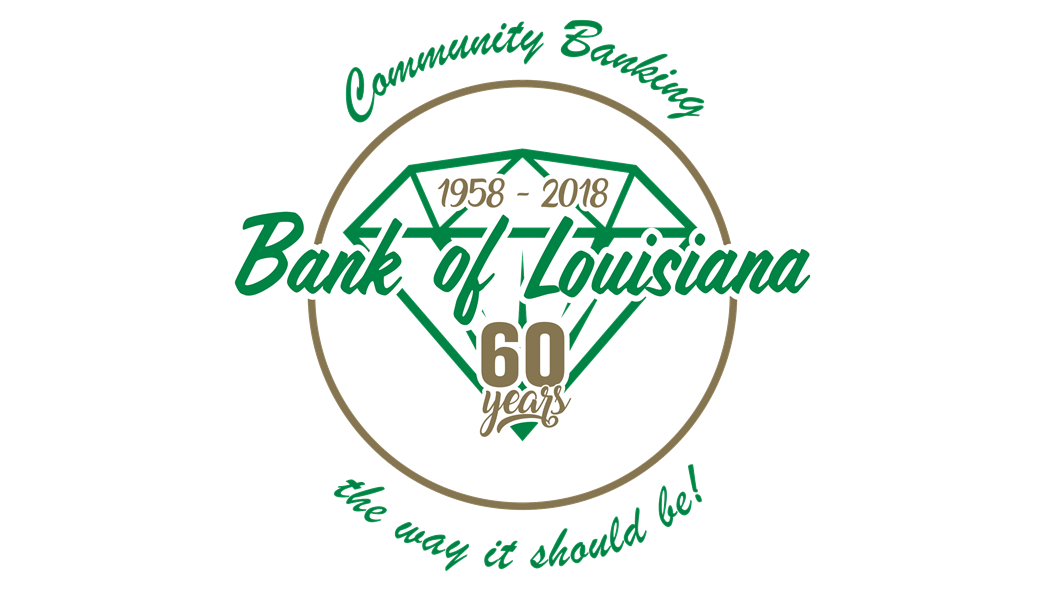 Bank of Louisiana 60years